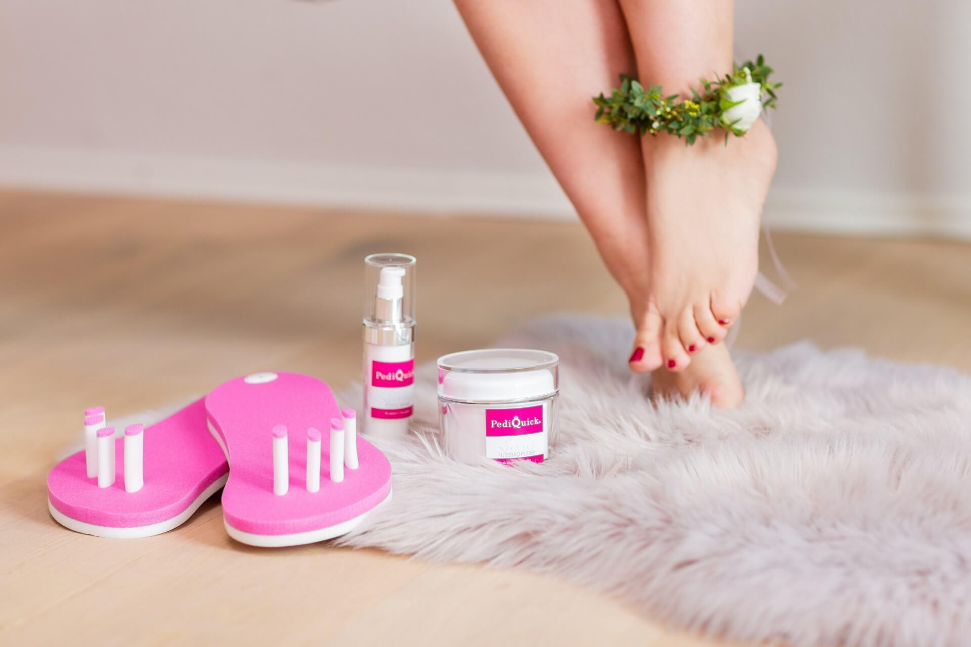 Pediküre selber machen - deine perfekte Fußpflege zuhause