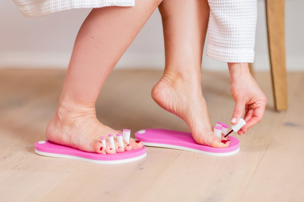 Fußnägel lackieren – so wird's richtig gemacht!